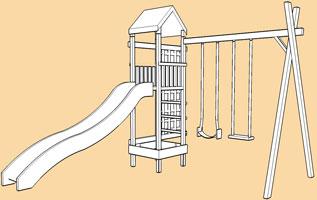 Arundel DYO/modular climbing frames