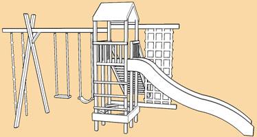 Monmouth DYO/modular climbing frames