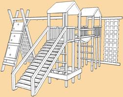 Monmouth Twin DYO/modular climbing frames