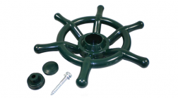 Ships-Steering-Wheel-(Green)-with-fixings